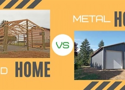 Metal Home vs Wood Home – Which one is Best for You?